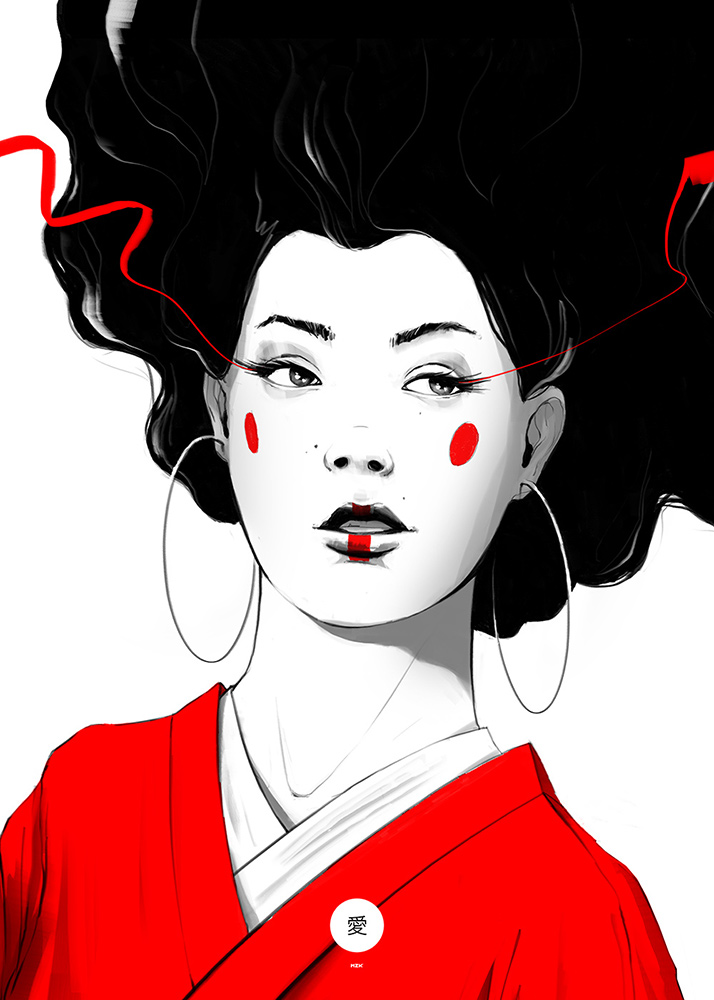 geisha-50×70-2center-01
